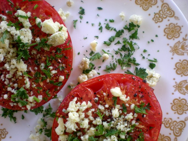 steakhouse broiled tomatoes